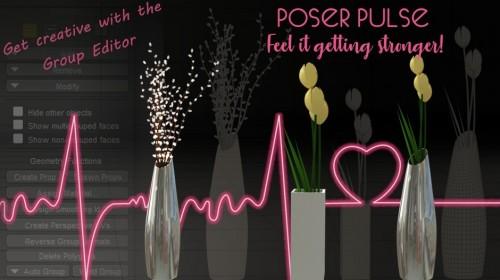 Poser Pulse - Group Editor Mini-Tut