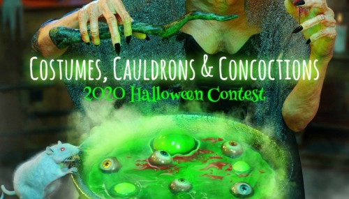 Costumes, Cauldrons & Concoctions: 2020 Halloween Contest