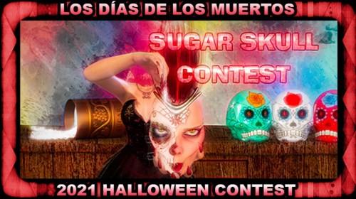 Sugar Skull Contest: Los Días de los Muertos - Halloween Contest