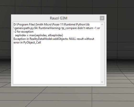 P11Pro error when loading Rauol into scene.PNG