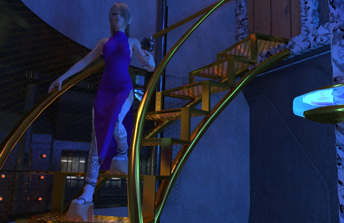 Aiko comes downstairs - cam inside.jpg