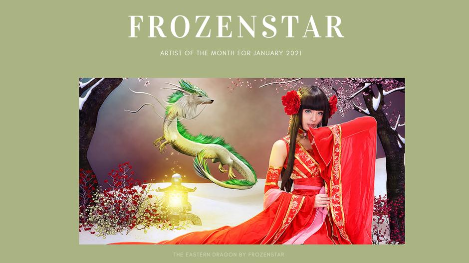 The Eastern Dragon by FrozenStar